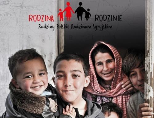 Pomagamy Syryjczykom każdego dnia