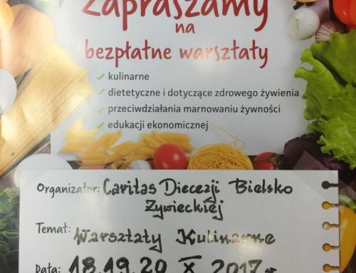 Warsztaty kulinarne w ramach programu POPŻ