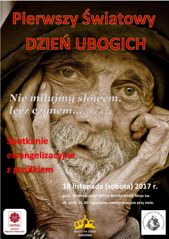 Światowy Dzień Ubogich (zaproszenie)