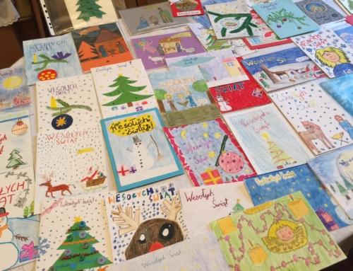 Konkurs na kartkę świąteczną Caritas