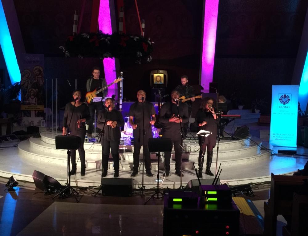 Koncert Celebrate Gospel! dla Klubu dla Osób Niepełnosprawnych w Radziechowach