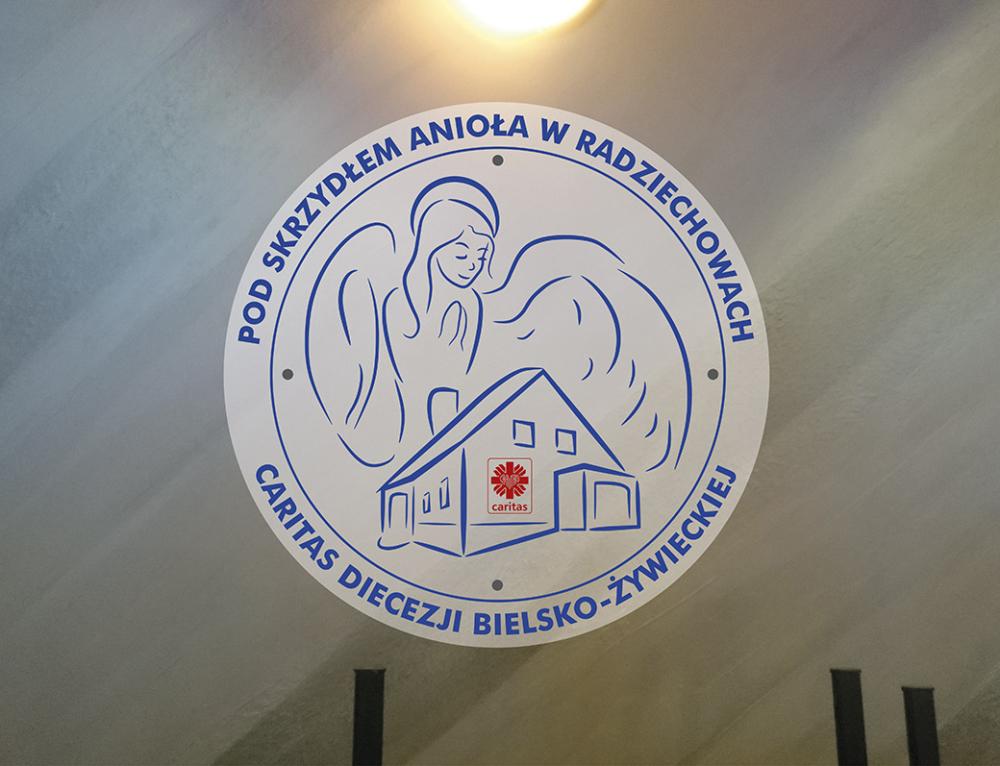 """Rozpoczęcie działalności Klubu Samopomocy """"Pod skrzydłem Anioła"""" w Radziechowach"""