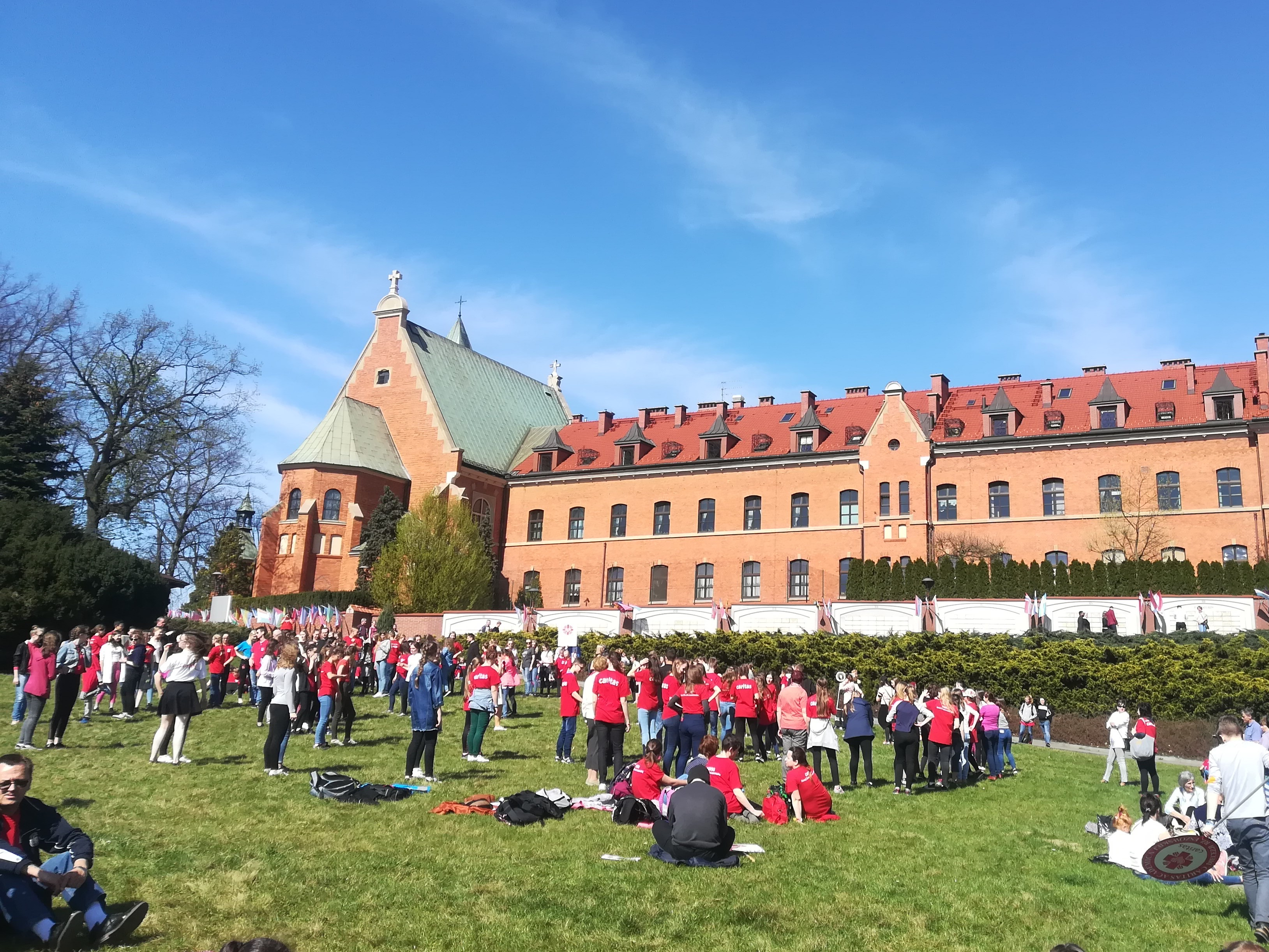 Pielgrzymka Caritas do Łagiewnik