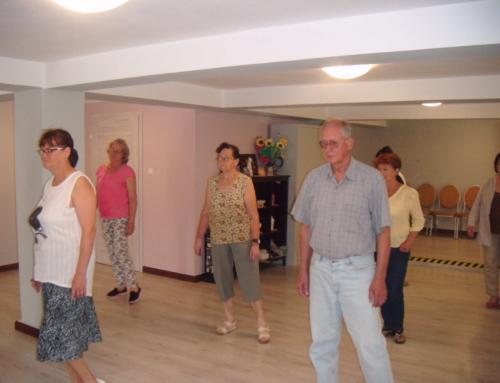 Walc, czacza i tango w Klubie Seniora