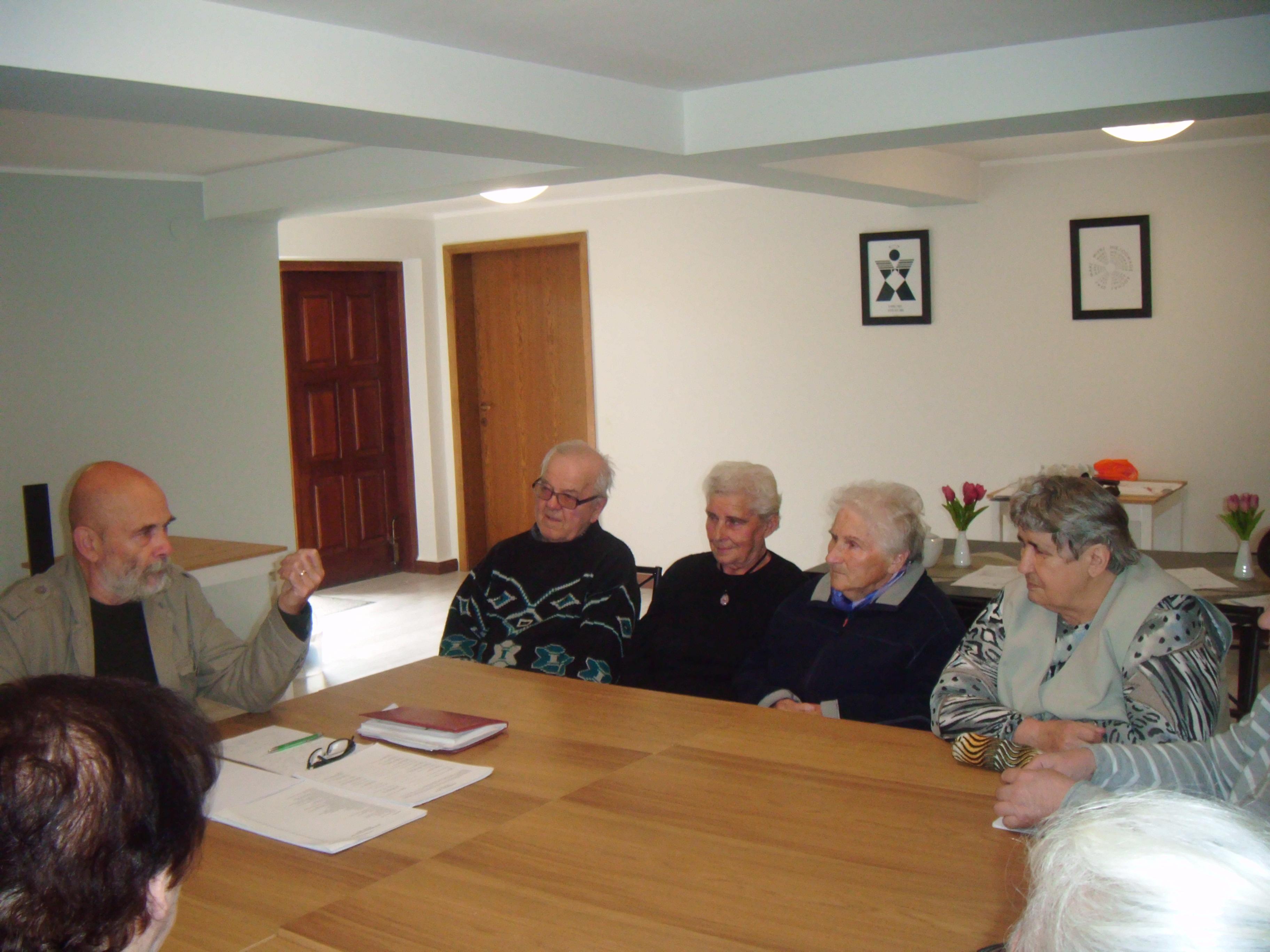 Spotkanie z psychologiem w Klubie Seniora