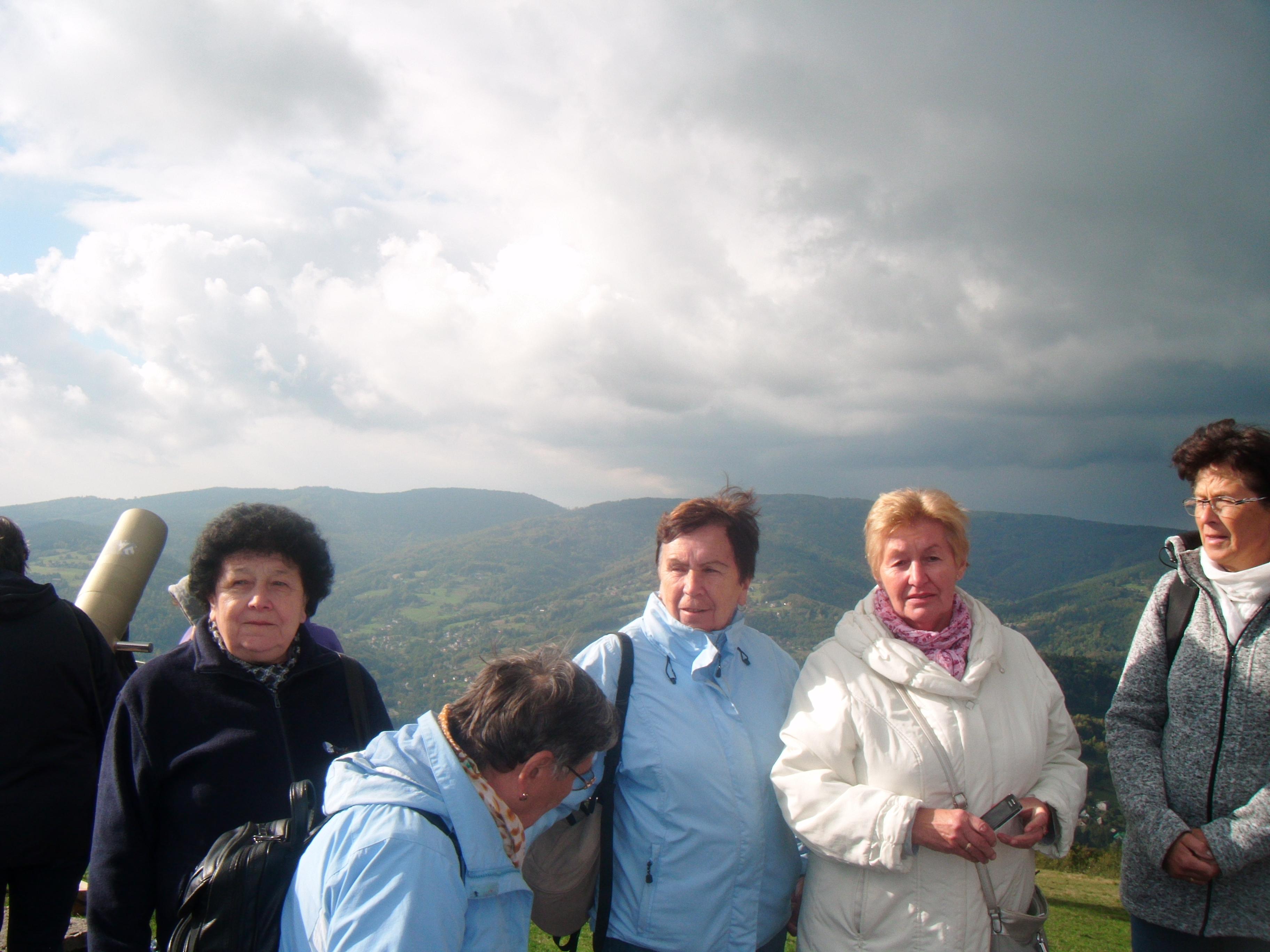 Seniorzy w Beskidach