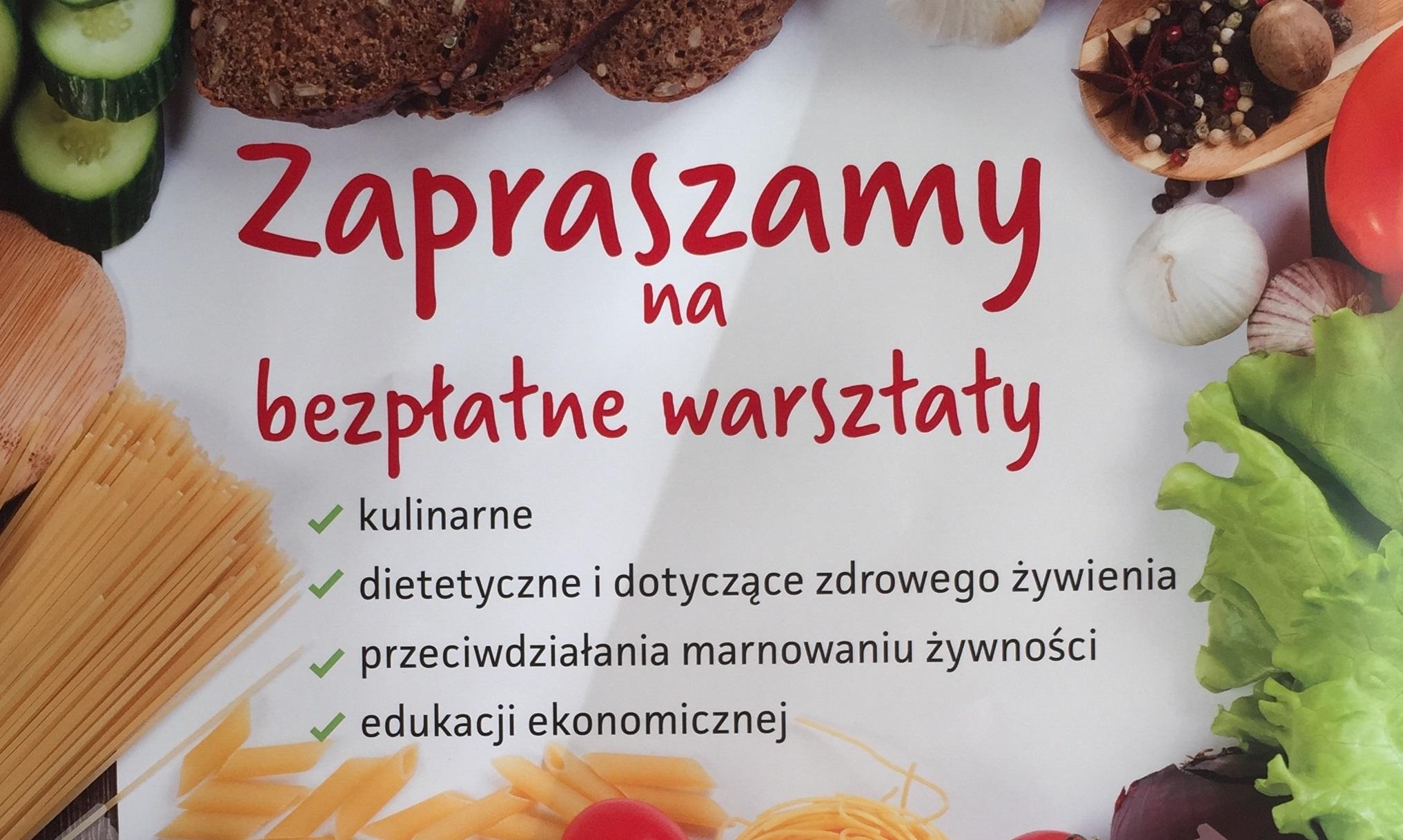 Warsztaty kulinarne POPŻ