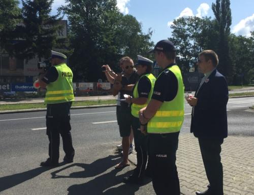 Patrol z Księdzem i św. Krzysztofem