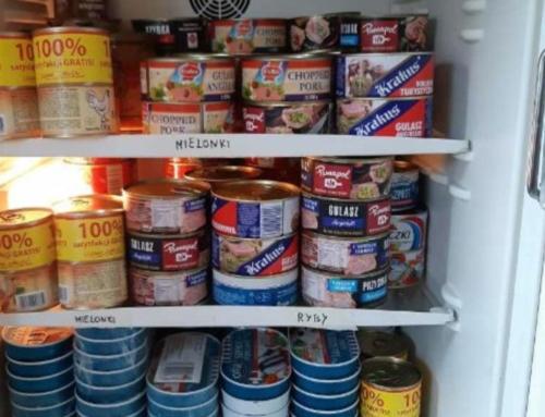 Caritas Diecezji Bielsko-Żywieckiej po raz kolejny przekazała partię żywności dla osób bezdomnych z Bielska-Białej.