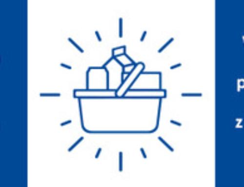 Pomoc dla DPS w Bulowicach w ramach Letniej Zbiórki Żywności TESCO.