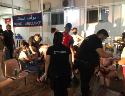 Caritas Polska rusza z pomocą dla poszkodowanych w wyniku wybuchu w Berjucie.