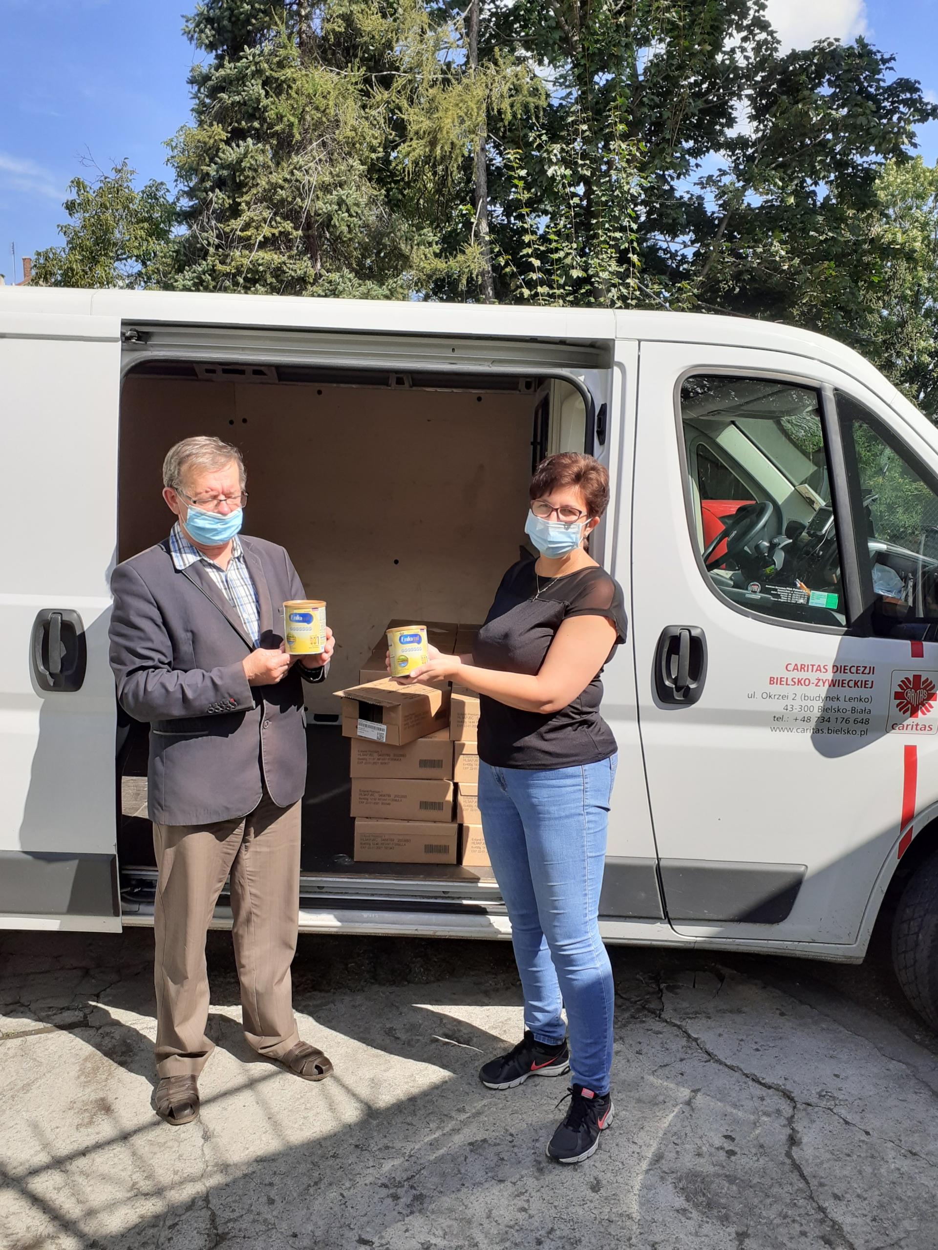 Wsparcie Caritas Diecezji Bielsko-Żywieckiej dla podopiecznych Koła Towarzystwa Pomocy im. św. Brata Alberta