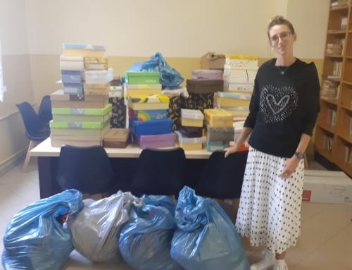 Pomoc Caritas Diecezji Bielsko-Żywieckiej dla Schroniska dla Osób Bezdomnych w Bielsku-Białej.