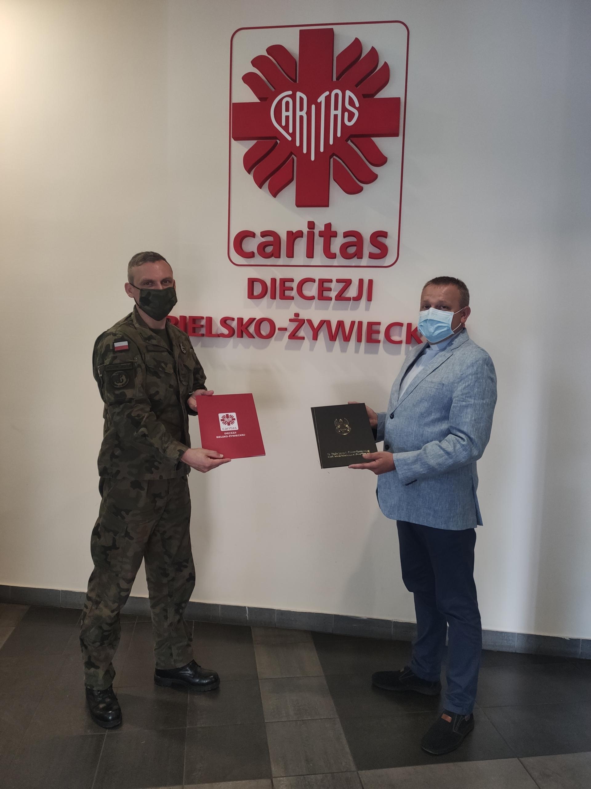 Współpraca Caritas Diecezji Bielsko-Żywieckiej z WOT.