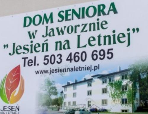 """Prośba o pomoc dla Domu Seniora """"Jesień na Letniej"""" w Jaworznie."""