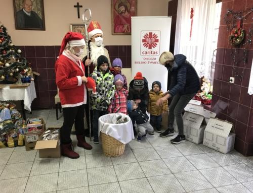 Mikołaj u Św. Brata Alberta.