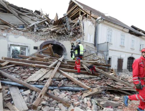 Pomoc dla ofiar trzęsienia ziemi w Chorwacji.