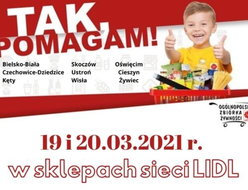 "Kolejna edycja zbiórki ""Tak Pomagam"""