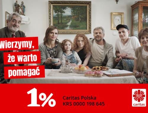 Dziękujemy za 1%!