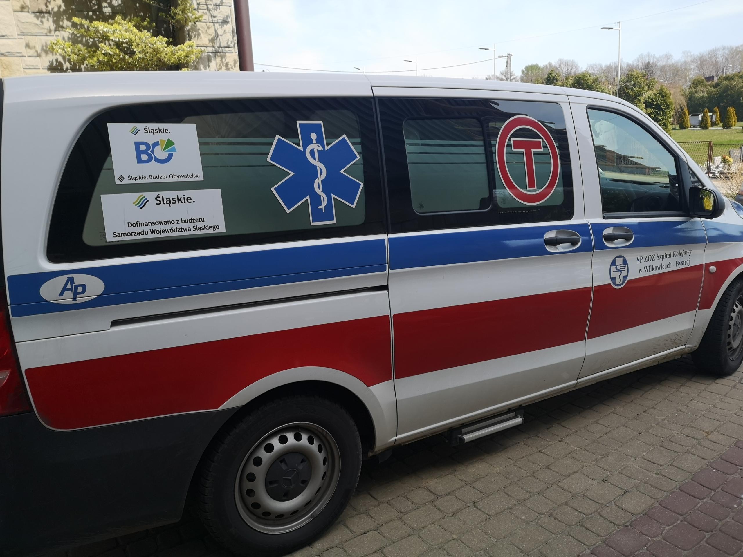 Wsparcie dla Szpitala Kolejowego w Wilkowicach-Bystrej
